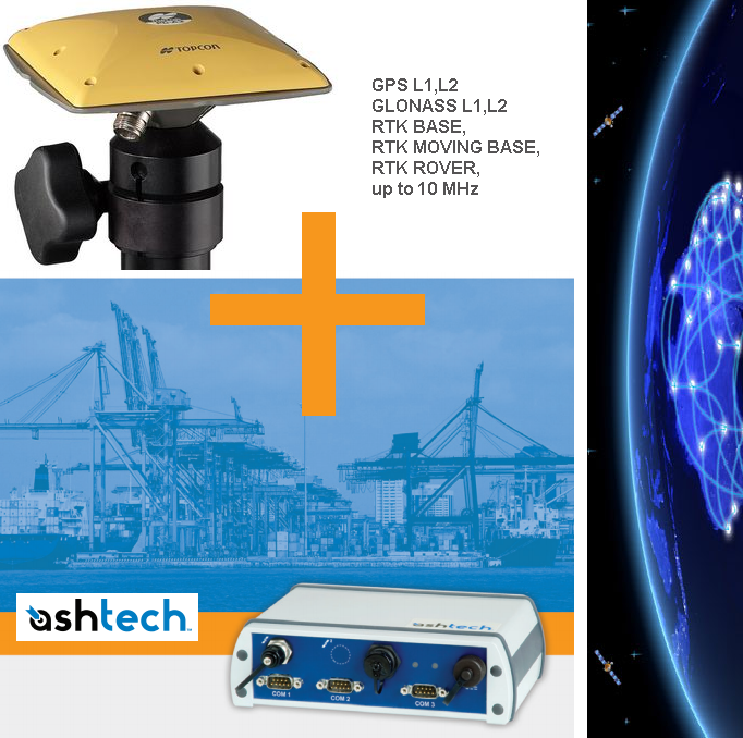 Ashtech + Topcon