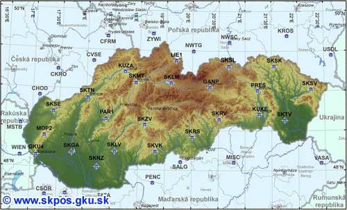 SKPOS map